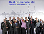 Treffen ohne nennenswerte Ergebnisse: der Bildungsgipfel in Dresden