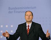 Bundesfinanzminister Peer Steinbrück