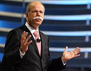 Bittet um finanzielle Unterstützung: Daimler-Chef Dieter Zetsche
