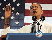 Der Demokrat Barack Obama wird der 44. US-Präsident sein.