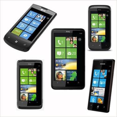 Ältere Smartphone-Modelle von HTC und anderen Herstellern