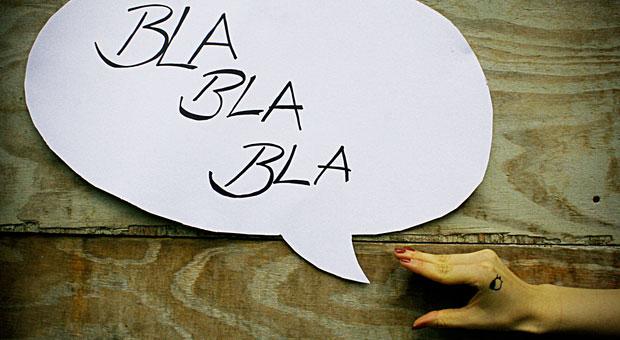 Mit Blabla gewinnen Sie keine Kunden für sich - wer erfolgreiche Verkaufsgespräche führen will, muss sich gut vorbereiten.
