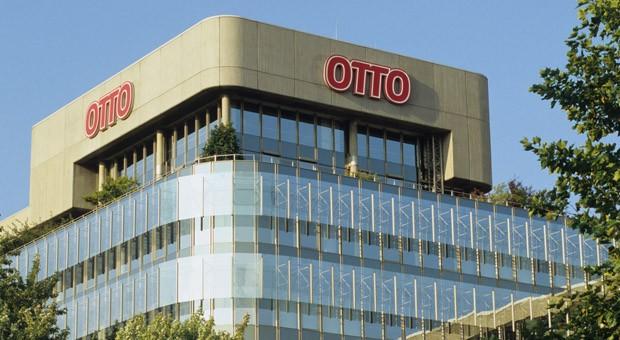 Die Konzern-Zentrale der Otto Group in Hamburg-Bramfeld.