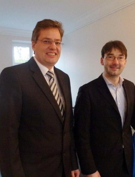 Geschafft: Jörg Winnesberg, Assessor iuris bei den Notaren an der Palmaille