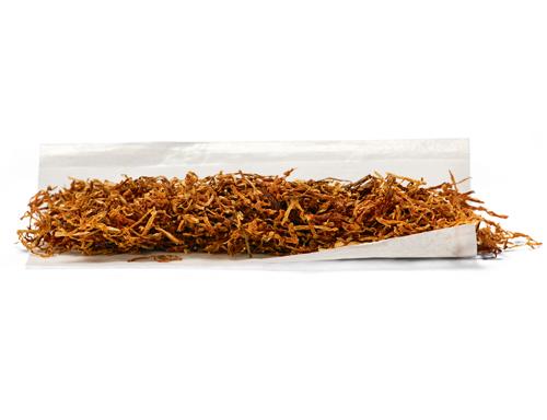 Eine Zigarette zum Selbstdrehen der Marke Natural American Spirit.