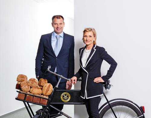 Franz Höflinger und Eva Müller kauften 2012 die angeschlagene Großbäckerei Müller-Brot