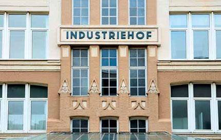 Der Industriehof: Hier sind ab Mitte Februar die neuen Redaktionsräume von Impulse