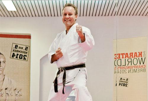 Horst Kaireit - Veranstalter der Karate-Weltmeisterschaft 2014 in Bremen
