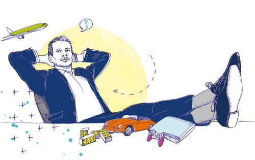 Einmal im Monat stellt impulse-Redakteur Georg Dahm Unternehmerspielzeug vor