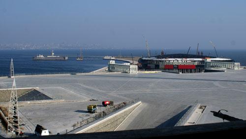 Verlockendes Projekt: Die Konzerthalle in Baku