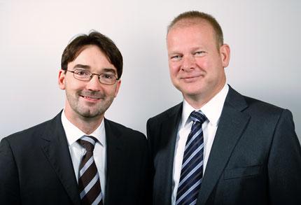 Nikolaus Förster, Chefredakteur von impulse, und Dirk Möhrle, Minderheitsgesellschafter der Impulse Medien GmbH.