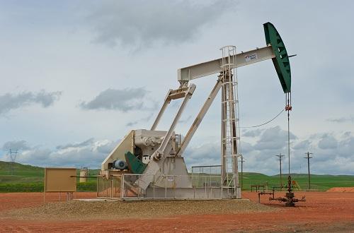 Förderanlage von ConocoPhillips in Bakken, North Dakota