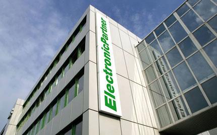 Der Stammsitz von ElectronicPartner in Düsseldorf.