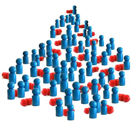Personalsuche: Ein Fehlgriff kann kostspielig sein. Deshalb holen sich immer mehr Unternehmen Berater an die Seite.