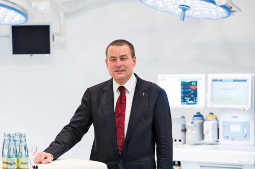 Stefan Dräger vertritt die fünfte Generation der Lübecker Unternehmerfamilie.