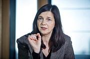 """Grünen-Spitzenkandidatin Katrin Göring-Eckardt beim Auftakt der neuen Reihe """"Chefgespräche"""""""