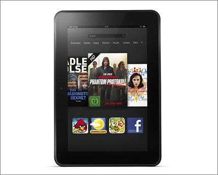 Beim Kindle Fire HD 8.9 will Amazon vor allem über den Preis punkten