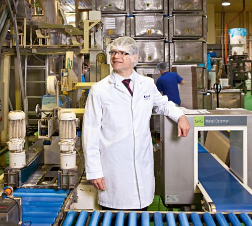 Armin Seitz, 52, kam 2006 als angestellter Geschäftsführer zu Moll Marzipan. Zwei Jahre später wurde er zum Unternehmer.