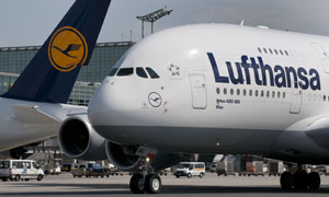 Lufthansa, Airbus, Flugzeug