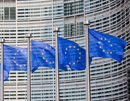 Der Hauptsitz der Europäischen Kommission in Brüssel