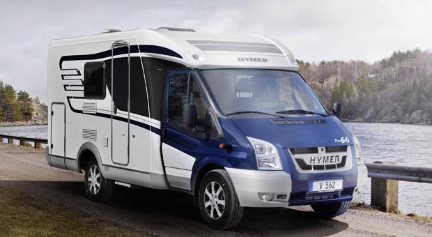 Ein Van Premium des Caravan- und Reisemobil-Herstellers Hymer.