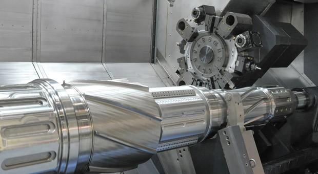 Eine CNC-Maschine