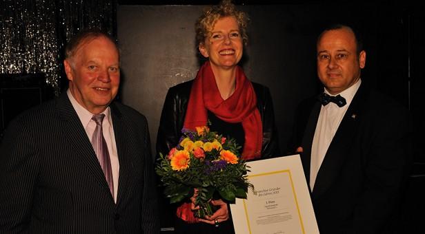 Ingrid Lawatzki von McDonald's aus Ahlen ist die beste Franchise-Gründerin 2013