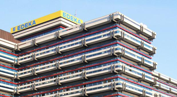Die Zentrale von Edeka in Hamburg.