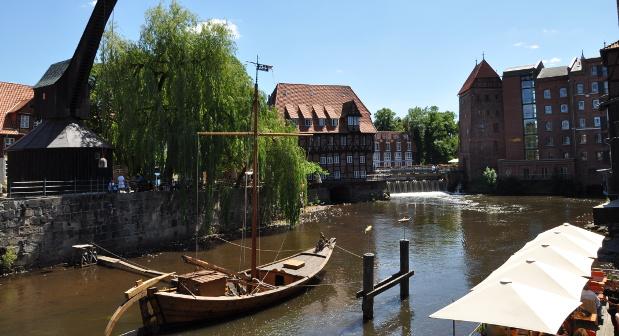 Die Hansestadt Lüneburg. In den ehemaligen Hanse-Gebieten ist der Unternehmergeist noch immer groß.