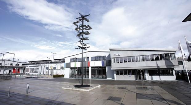 Der Standort des Leuchtenherstellers Hess in Villingen-Schwenningen