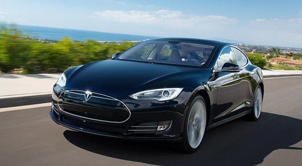 Die Limousine Model S von Tesla.