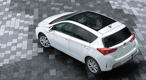 Der Toyota Auris Hybrid
