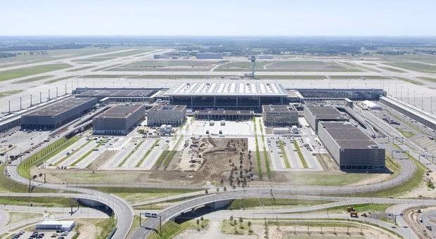 Simulation des neuen Berliner Flughafens
