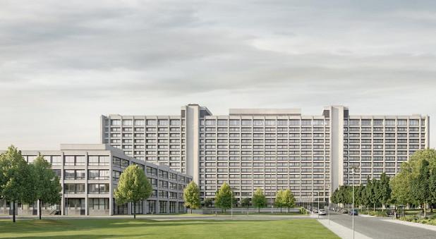 Die Bundesbank in Frankfurt.