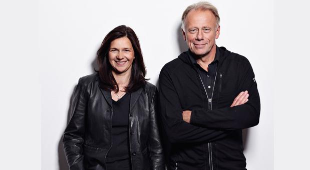 Katrin Göring-Eckardt und Jürgen Trittin, SpitzenkandidatInnen von Bündnis 90/Die Grünen.