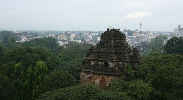 Tempelanlage in Indien