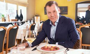 Interview mit Marc Eckert, Geschäftsführer von Fa. Bulthaup, im Ristorante Bellini, Landshut