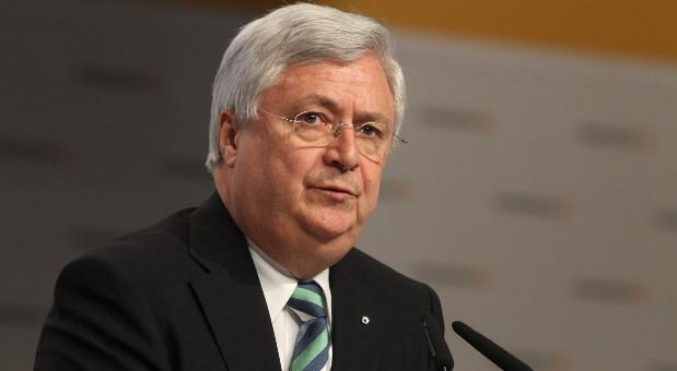 Der Aufsichtsratsvorsitzende der Commerzbank, Klaus-Peter Müller, auf der Hautpversammlung 2013.
