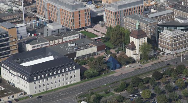 Die Merck-Zentrale in Darmstadt.
