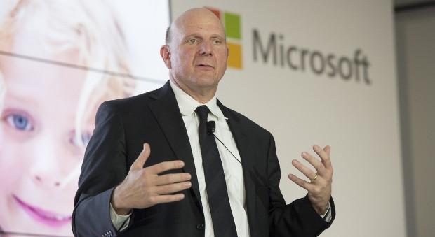 Der CEO von Microsoft, Steve Ballmer.