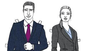 Gesicht zeigen: Modeberaterin Zimmermann rät Männern vom Vollbart ab und Frauen dazu, sich die Haare zusammenzubinden