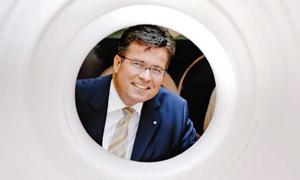 Andreas Bastin, Masterflex-Vorstandsvorsitzender