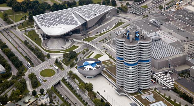 Das BMW-Areal in München.