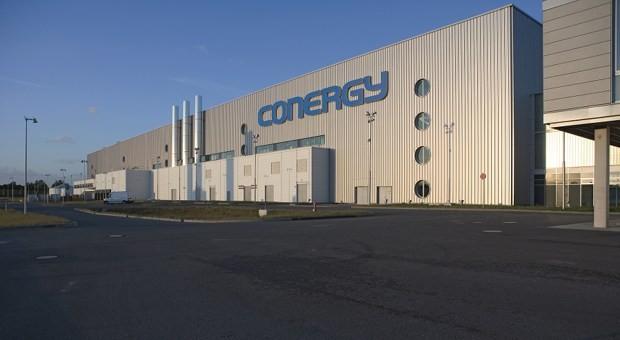 Conergy-Produktionshalle in Frankfurt an der Order