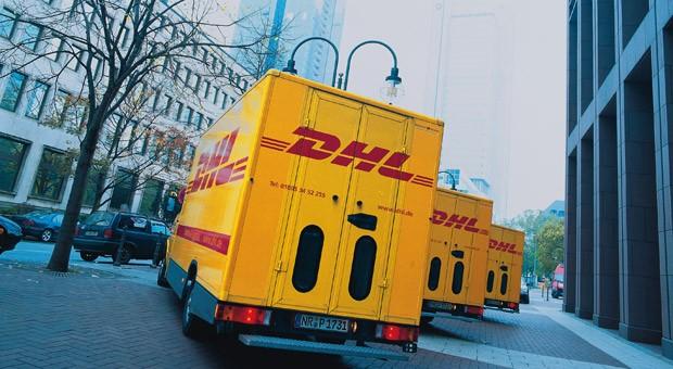 Transportfahrzeuge von DHL