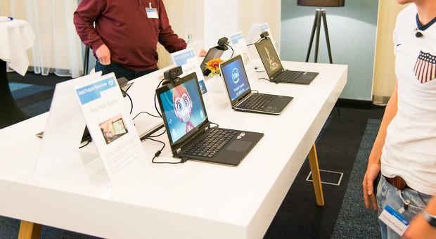 Produktvorführung auf dem Intel Future Showcase in Hamburg 2013
