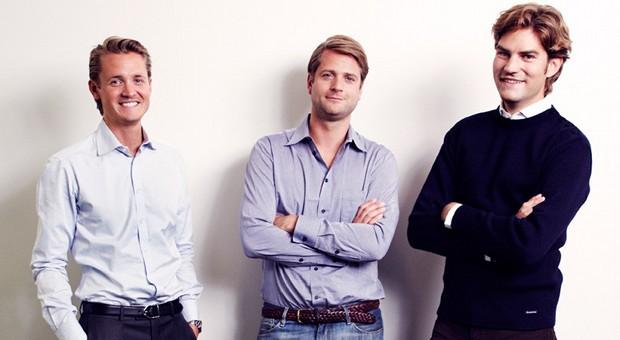 Das Gründertrio Niklas Adalberth, Sebastian Siemiatkowski und Victor Jacobsson (v.l.) hat große Pläne für Deutschland
