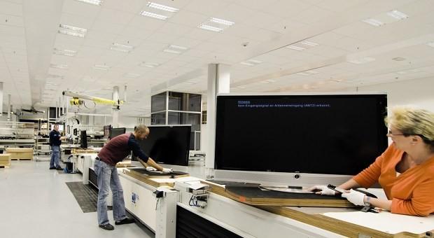 Made in Germany: Fertigung bei Loewe