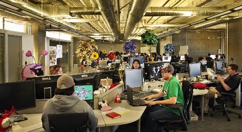 Der Zynga-Hauptsitz in San Francisco