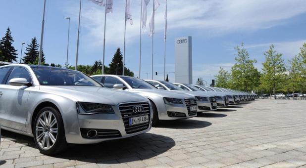 Ein Gebrauchtwagencenter von Audi. In Deutschland kommen zwei Gebrauchte auf einen Neuwagen, in China läuft das Geschäft gerade erst an.